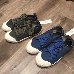 🔥4 for $25🔥JOE FRESH boys ombré sneakers - (2)